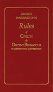 GW rules of Civility book
